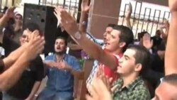 For Libyan Students First Day After Revolution Is Reason to Party
