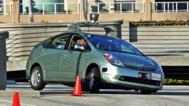 Robotizovano vozilo Honda Prius sa kojim eksperimentiše kompanija Gigl