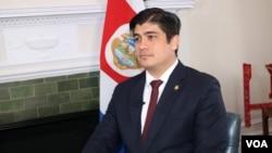 El presidente de Costa Rica, Carlos Alvarado, dijo que su país tiene recursos para garantizar el control migratorio ante el flujo de nicaragüenses.