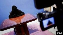 مصر کی نقاب پوش ٹیلی ویژن اینکر