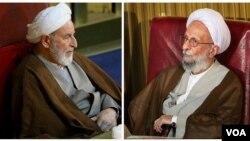 محمدتقی مصباح و محمد یزدی، رئیس فعلی مجلس خبرگان سرشناسترین چهرههای بازمانده اصولگرایان بودند.