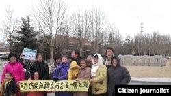部分在北京維權上訪者發起要求訪民代表參與兩會行動