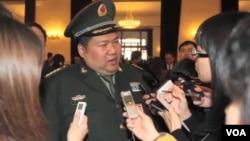 毛新宇(视频截图)