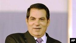 L'ancien président Zine El Abidine Ben Ali, en 2008.