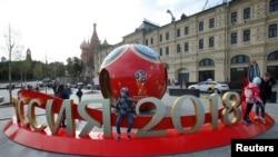 آمادگی شهر مسکو برای جام جهانی فوتبال ۲۰۱۸
