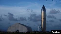 Прототип космического корабля SpaceX Starship
