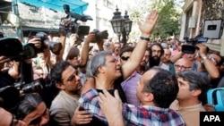İran kinematoqrafları etiraz aksiyası