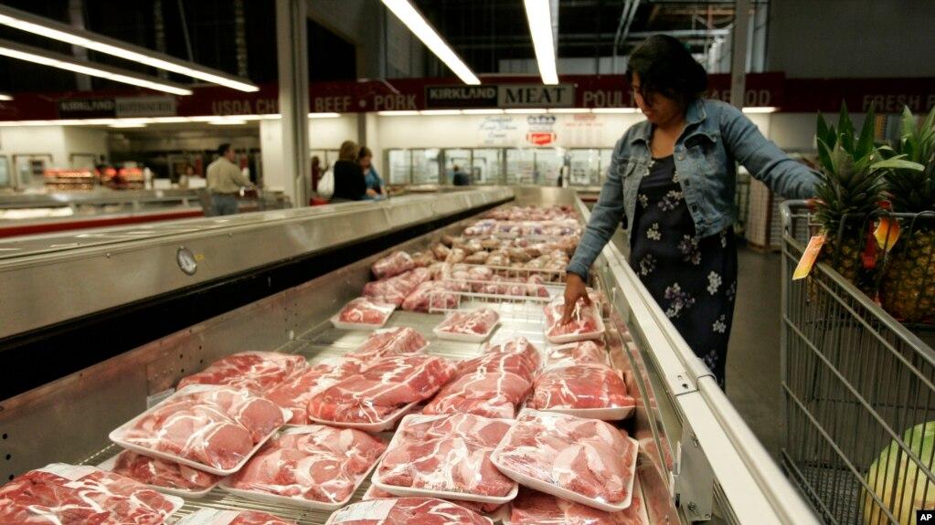 美國市場上的豬肉