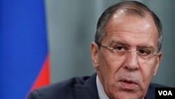 Menlu Rusia Sergei Lavrov: DK PBB harus mendukung usulan Kofi Annan bagi perdamaian di Suriah.