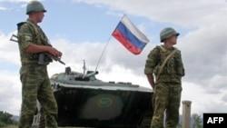 Российские войска в Южной Осетии (архивное фото)