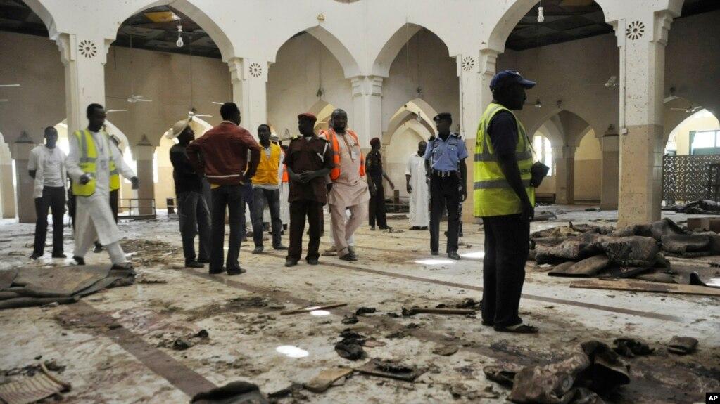 عکس آرشیف: تندروان در گذشته نیز در مسجد در نایجریا حملات انتحاری را انجام داده اند