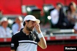 فرانس کے ٹینس کے معروف کھلاڑی جرمی چارڈی، فائل فوٹو