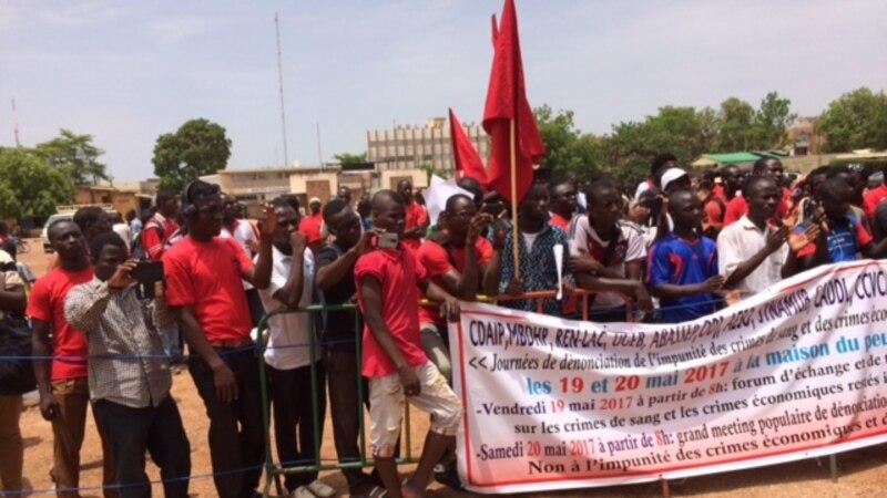 La société civile met la pression sur la justice au Burkina