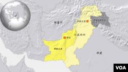 巴基斯坦俾路支省及首府奎塔
