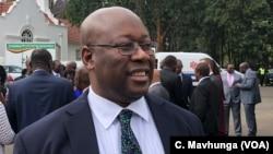 Winston Chitando, Zimbabwe minister of Mines and Mining Development.
