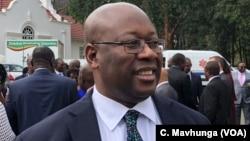 Winston Chitando, Zimbabwe minister of Mines and Mining Development