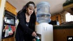 Trong những năm 1990, bà Robert Walker là nguyên đơn chính trong một vụ kiện của hàng trăm cư dân Hinkley chống lại PG&E vì công ty này đã đổ nước dùng làm lạnh từ một nhà máy nén khí đốt nằm ở phía nam thị trấn vào những hồ chứa nước không có những lớp chắn để ngăn không cho nước thấm vào đất.
