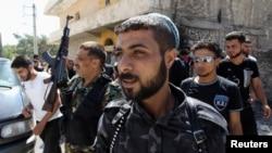 Hassan Jazera, salah seorang Komandan Brigade Ghurabaa al-Sham di Suriah (foto: ilustrasi). Tim jaksa Jerman mendakwa komandan Brigade Ghurabaa al-Sham atas tuduhan kejahatan perang.