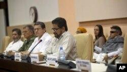 Đàm phán giữa các thương thuyết gia của chính phủ Colombia và nhóm FARC ở Havana, Cuba