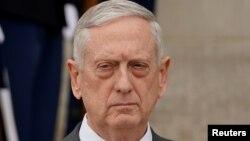 James Mattis au Pentagone, Arlington, le 1er février 2018