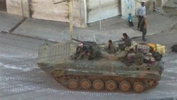 حمله نیروهای دولتی سوریه به درعا