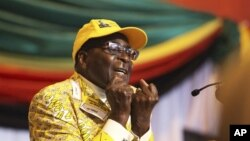 Presiden Zimbabwe Robert Mugabe (Foto: dok). Ketua komisi HAM Zimbabwe, Profesor Reg Austin, mengundurkan diri dari jabatannya, Sabtu (29/12), mengukuhkan kegagalan pemerintah Presiden Robert Mugabe menghentikan berbagai pelanggaran HAM di negara itu.