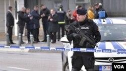 Arhiva - Pripadnici crnogorske policije.