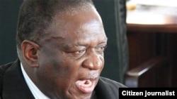 UMnu. Emmerson Mnangagwa