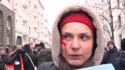 تظاهرات در اکراین