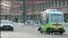 Uji coba mobil tanpa pengemudi di Stockholm (Foto: VOA/Videograb)