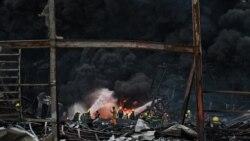 ဘန္ေကာက္ေလဆိပ္နား စက္႐ုံေပါက္ကဲြမႈ ၁ ဦးေသ၊ အမ်ားအျပား ဒဏ္ရာရ