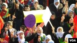 Prosvjedi u Diyarbekiru, Turska, January 09, 2014