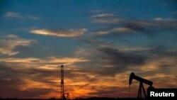德克萨斯州一处油田