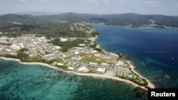 Pangkalan marinir AS Camp Schwab, di Henoko, Nago, selatan pulau Okinawa, Jepang (Foto: dok).