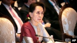 Myanmar'ın Nobel Barış Ödülü Sahibi Lideri Aung Suu Kyi
