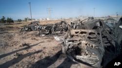 Scènes chaotiques après des affrontements en Libye.