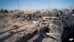 На поле боя в Ливии (архивное фото)