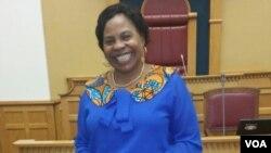 Monica Mutsvangwa, Deputy Chair, SADC Parliament,