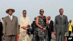 Perezida Museveni Yasoje Uruzinduko Yakoreraga mu Rwanda