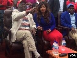 VaMorgan Tsvangirai nemudzimai wavo Amai Elizabeth