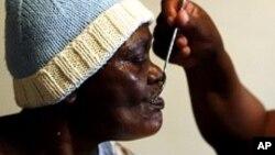 Un sidéen au Zimbabwé, pays où l'incidence de VIH/sida reste très élevée