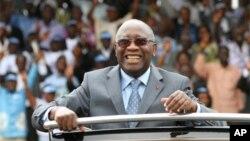 Laurent Gbagbo attend son jugement à la CPI.