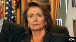 美国国会众议院民主党领袖佩洛西(资料照片)
