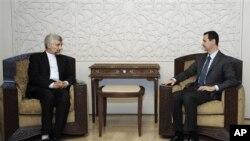 دیدار سعید جلیلی، مقام ارشد ایران با رییس جمهور سوریه-آرشیو