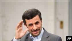 아흐마디네자드 이란 대통령 (자료사진)