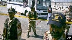 파키스탄 폭탄 테러 현장 (자료사진)