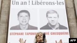 Tổ chức Ký giả Không biên giới phổ biến những tấm ảnh của Hervé Ghesquiere và Stéphane Taponier