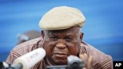 Etienne Tshisekedi, kiongozi wa upinzani nchini Congo ambaye anakataa kuyatambua matokeo ya uchaguzi mkuu nchini humo