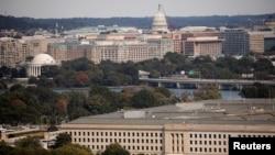 Gedung Pentagon terlihat di Arlington, Virginia, AS, 9 Oktober 2020. (Foto: REUTERS/Carlos Barria)