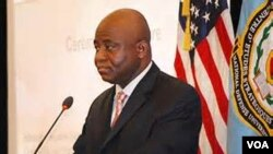 Liberian defense minister Brownie Samukai